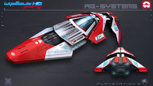 AGSystems - WipEout FURY - PS3