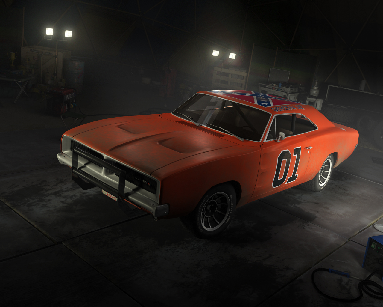 general lee ps3 in game model by nocomplys on deviantart. Black Bedroom Furniture Sets. Home Design Ideas