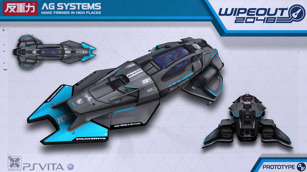 AG Systems Protoype - Wipeout2048 - PSVita