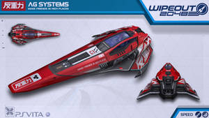 AG Systems Speed - Wipeout2048 - PSVita