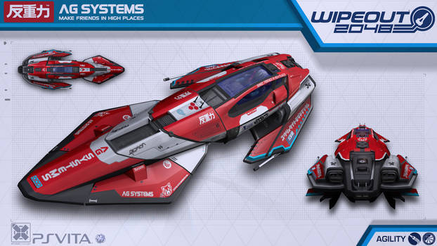 AG Systems Agility - Wipeout2048 - PSVita