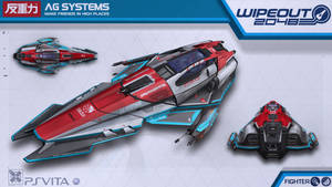 AG Systems Fighter - Wipeout2048 - PSVita