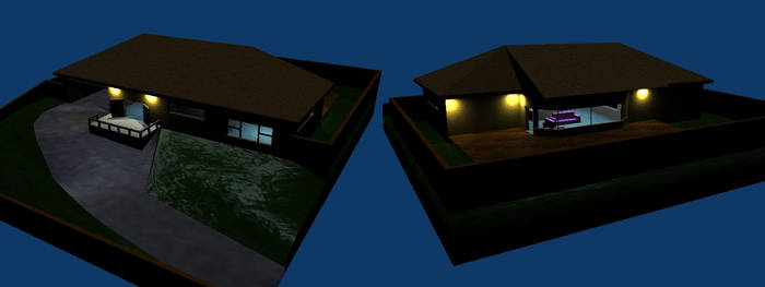 House front and back WIP