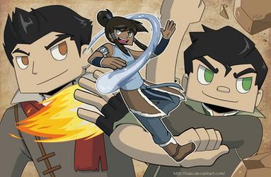 Legend of Korra by Taiki
