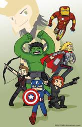 Avengers by Taiki