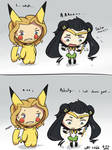 Thor and Loki's Halloween costumes