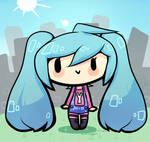 Miku is a city girl