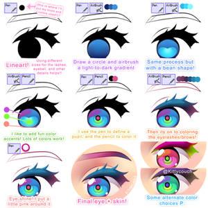 Rainbow Eye Tutorial