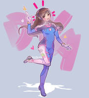 D.Va D.Va! by KittyCouch