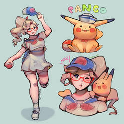 Pokemon Let's Go Pango by KittyCouch