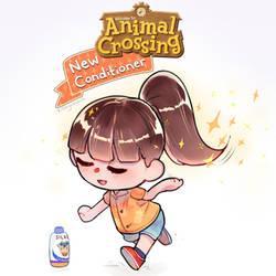 Animal Crossing New Conditioner