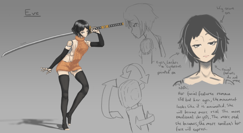 Eve the Sword Maiden