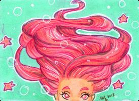 ACEO Mermaid by Monique--Renee