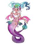 Coachella Mermaid