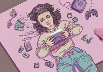 90's Nostalgia by Monique--Renee