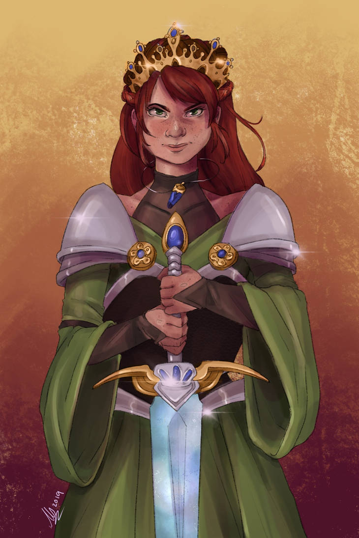Maida Commission by Monique--Renee