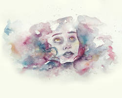 Watercolor Portrait II