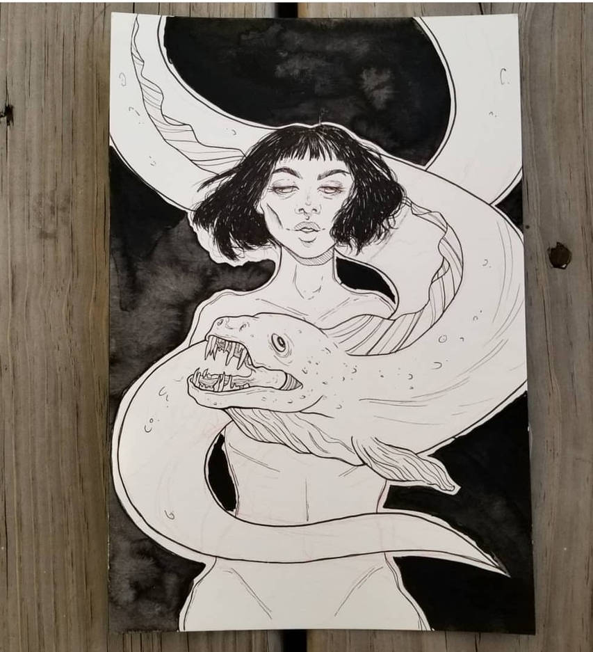 MerMay Eel by Monique--Renee