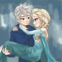 Jack and elsa by thaand92