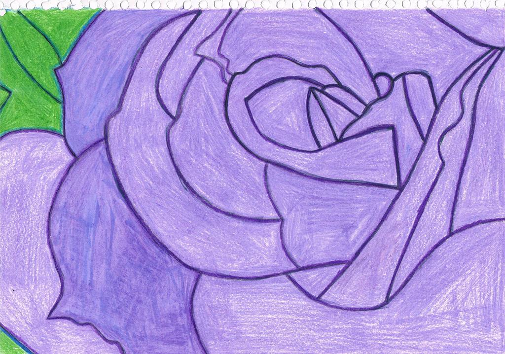 Purple Rose by jessyho862010