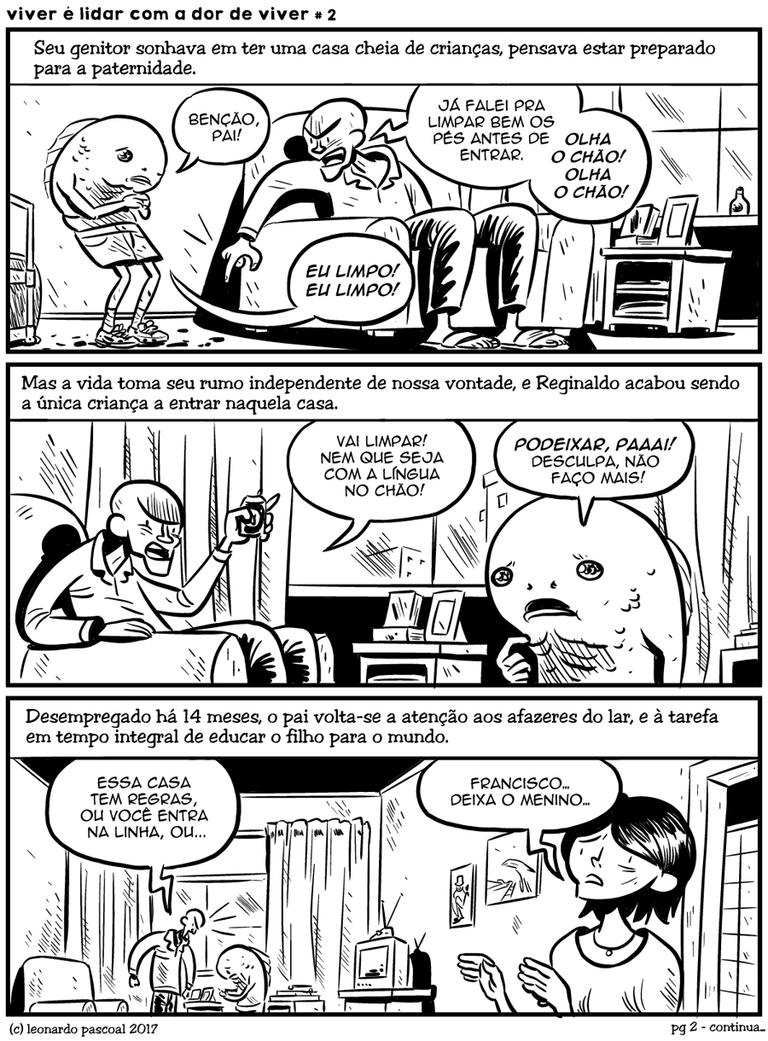 Viver  lidar com a dor de viver # 2 by inteligivel