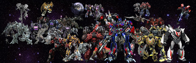 Transformers Collage by cloudmoji