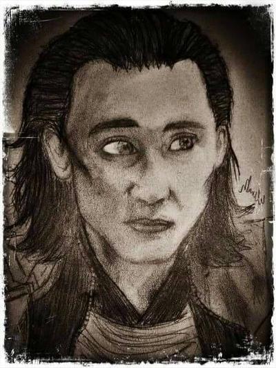 Loki  by EsmeeLeFay