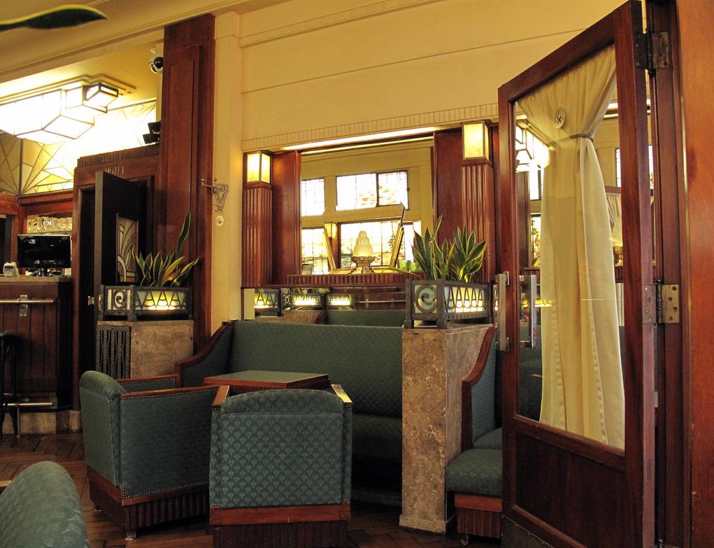 Art deco lounge by smaragd01 on deviantart - Deco gezellige lounge ...