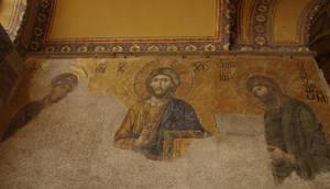 Deesis mosaic