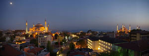 Evening view to Sultanamet by Smaragd01