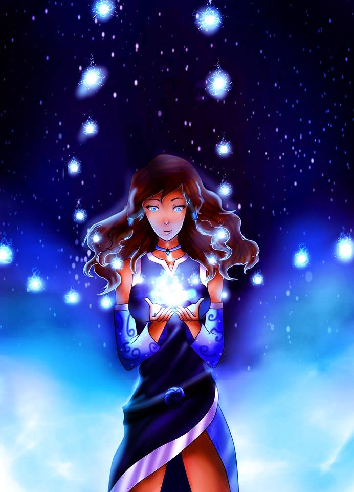 korra flower power 2 by KimiaArt