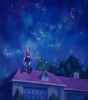 Sailor Moon by portablecity