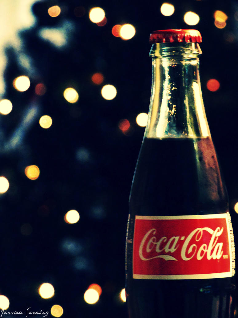 Bokeh Coca Cola by cheekz-jess