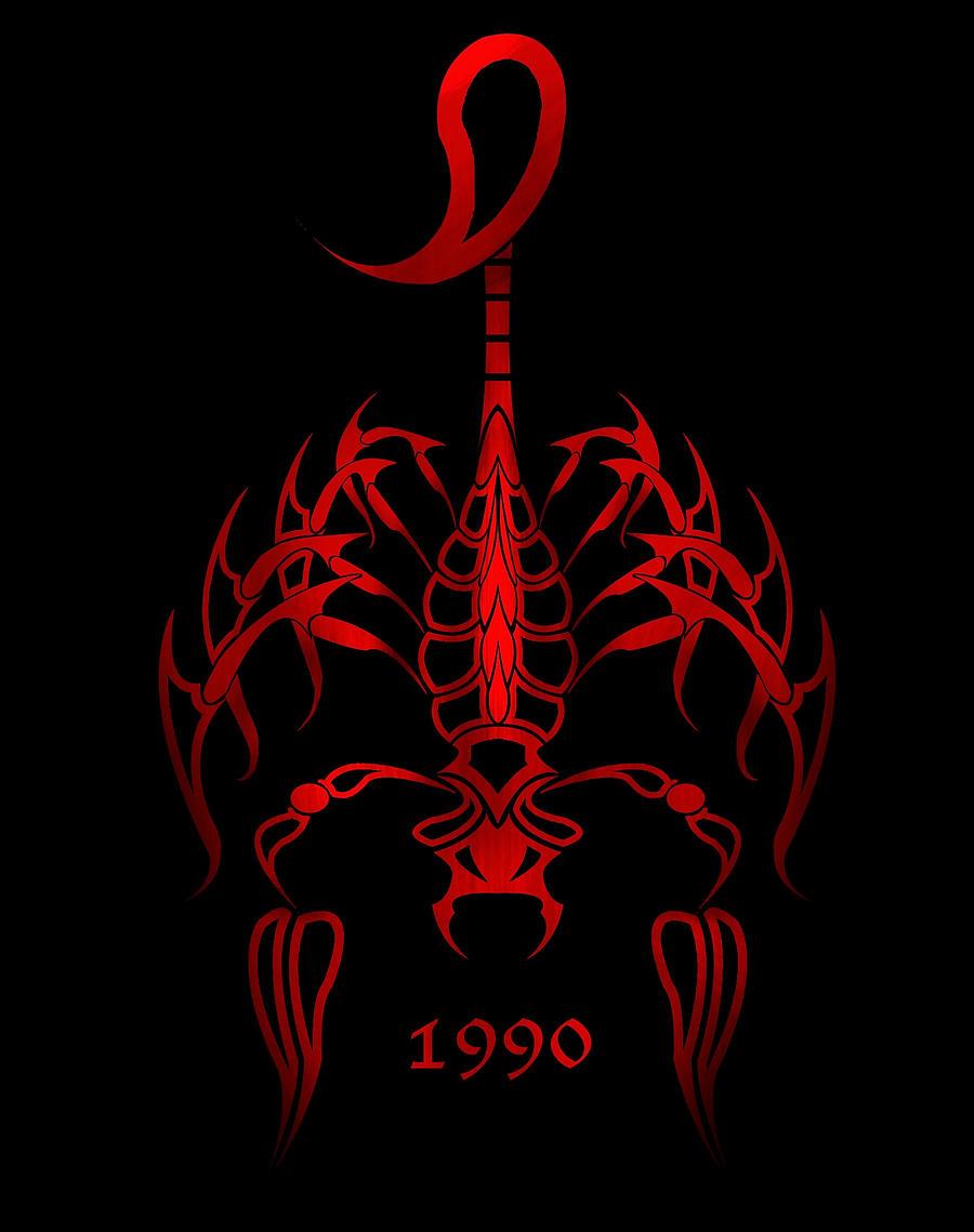 Red Scorpion Wallpaper