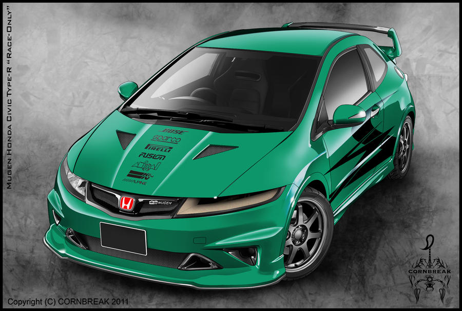 Tricked out honda civic