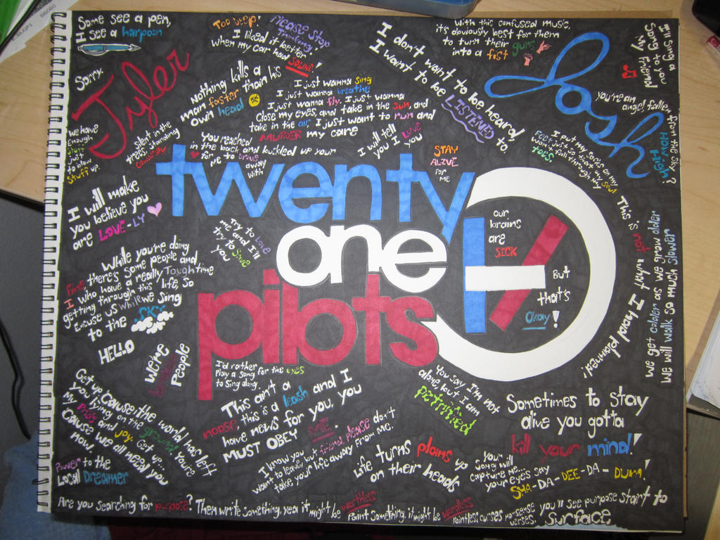 The gallery for twenty one pilots lyrics wallpaper for Dropkick murphys mural