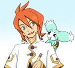 Luke and Mieu