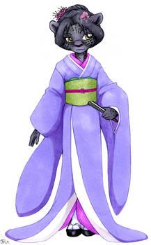 Kimono Feline