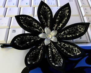 Black Stars Kanzashi
