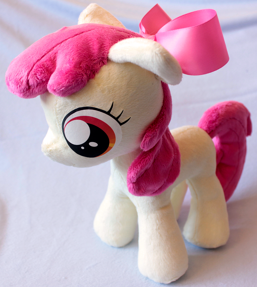 Applebloom Plushie by nalina