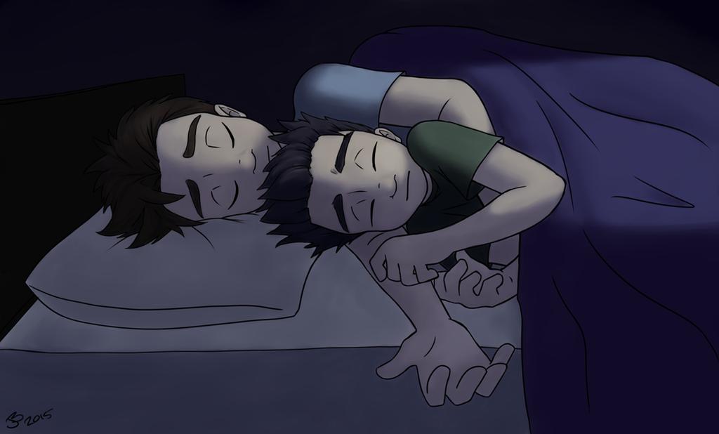 Big Brothers Keep Away the Nightmares by nalina