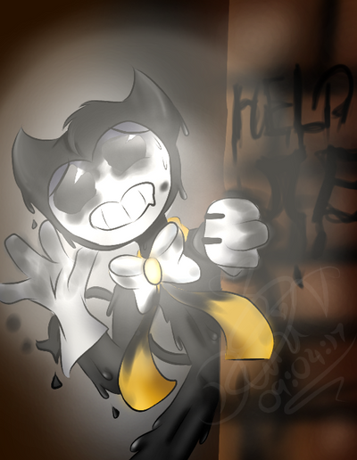 Bendy Round The Corner | BATIM by ChloeXRascalFanGirl