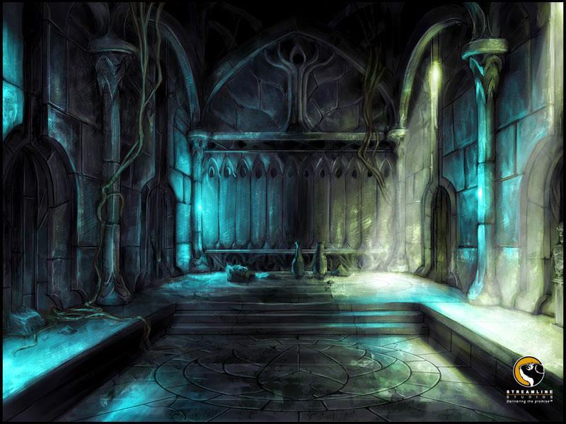 Elven temple by Minionplz