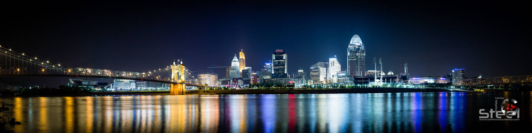 Cincinnati from the water front