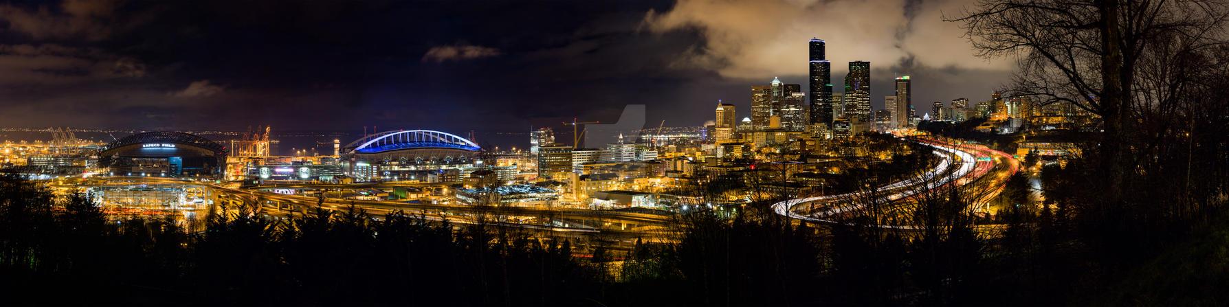 Seattle Washington by ANNIHILATOR001
