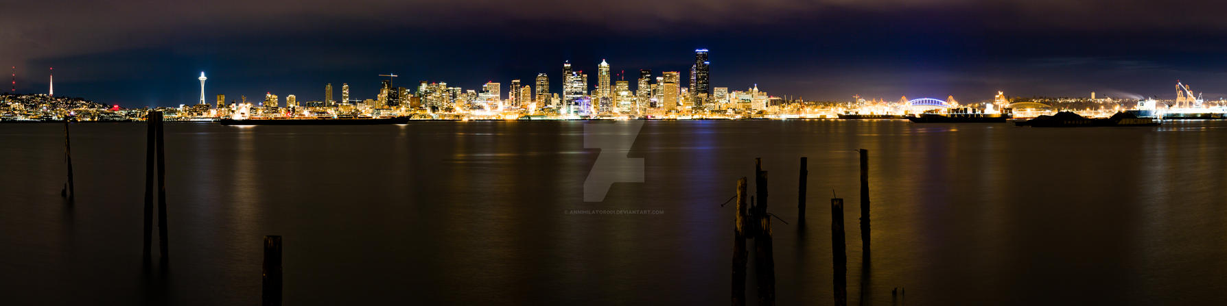Seattle View 3 by ANNIHILATOR001