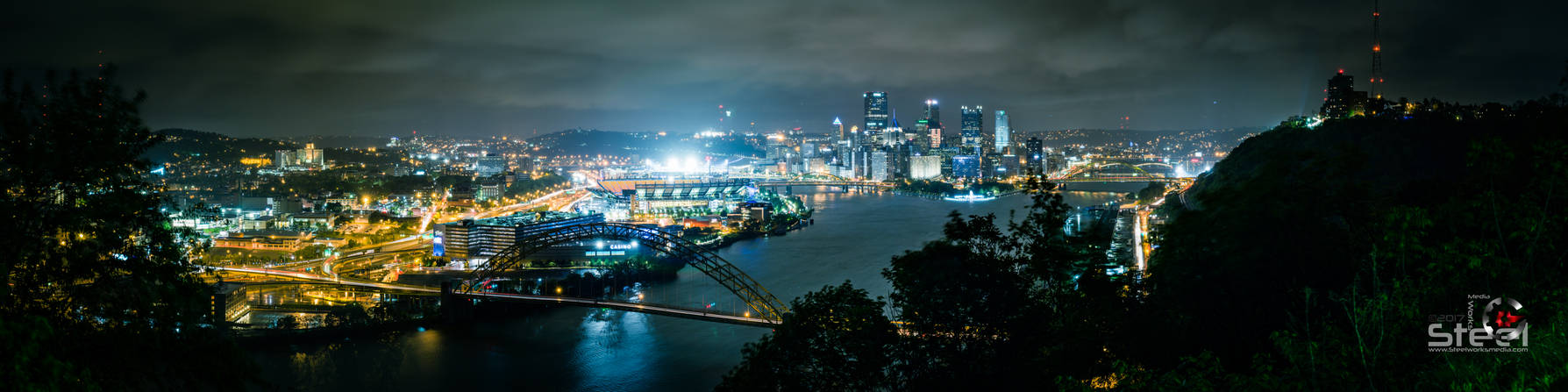 Pittsburgh, PA (View: West End-Elliott Overlook)