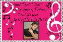 Je N'ai Pas De Mots Lyrics Stamp by KrazyKat22