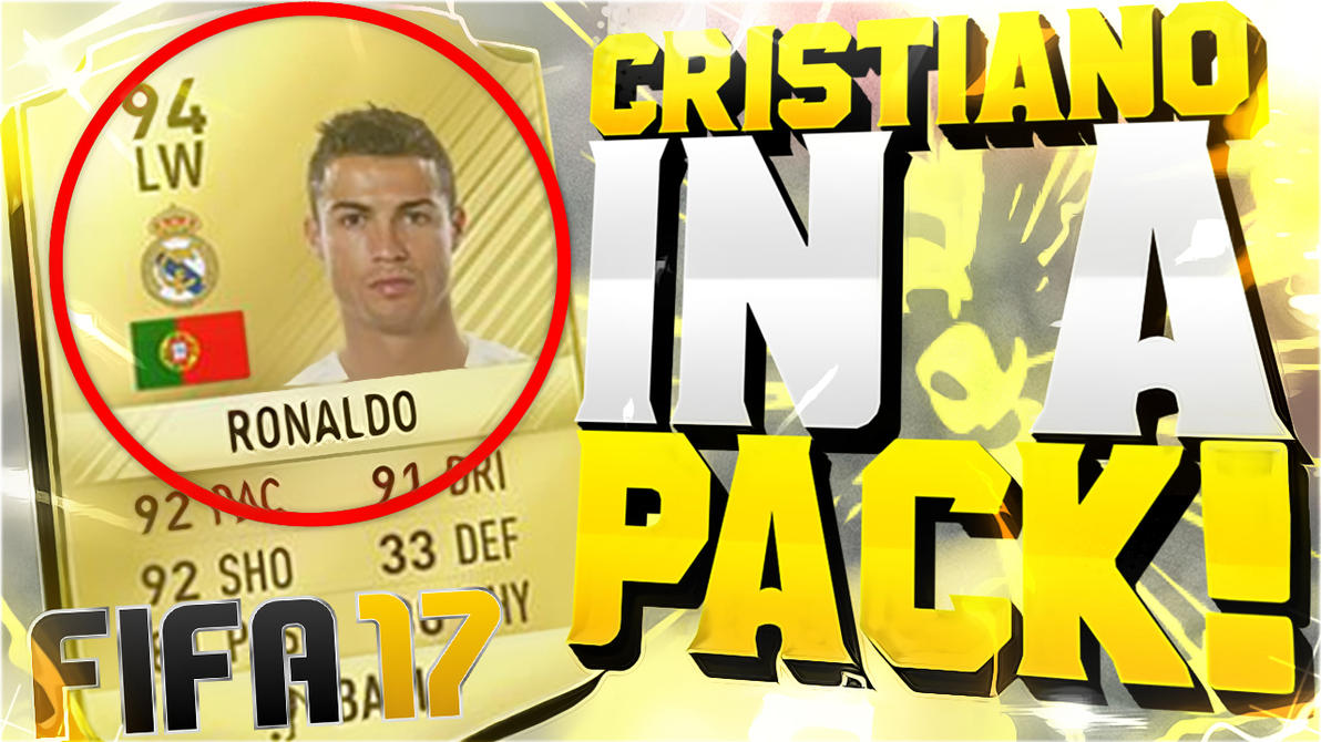 Cristiano In A Pack by AlvaroGtaV