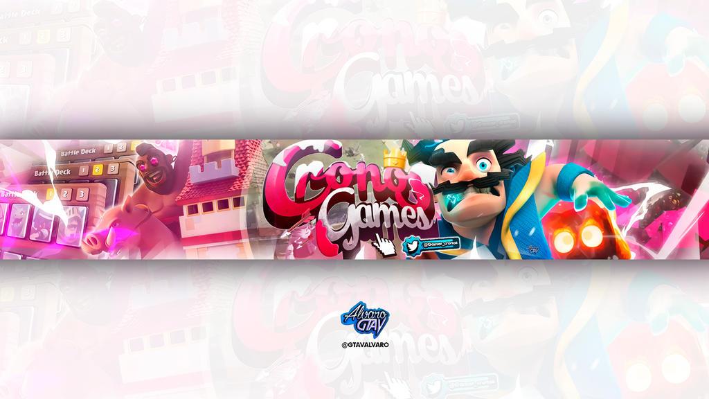 Banner Cronos Games 2 by Alvaro GtaV by AlvaroGtaV